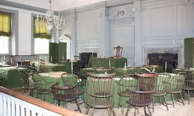 Signing Room Independence Hall