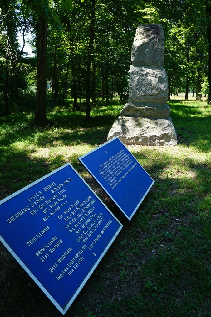 21st Michigan Infantry Monument near Lytle Hill 4