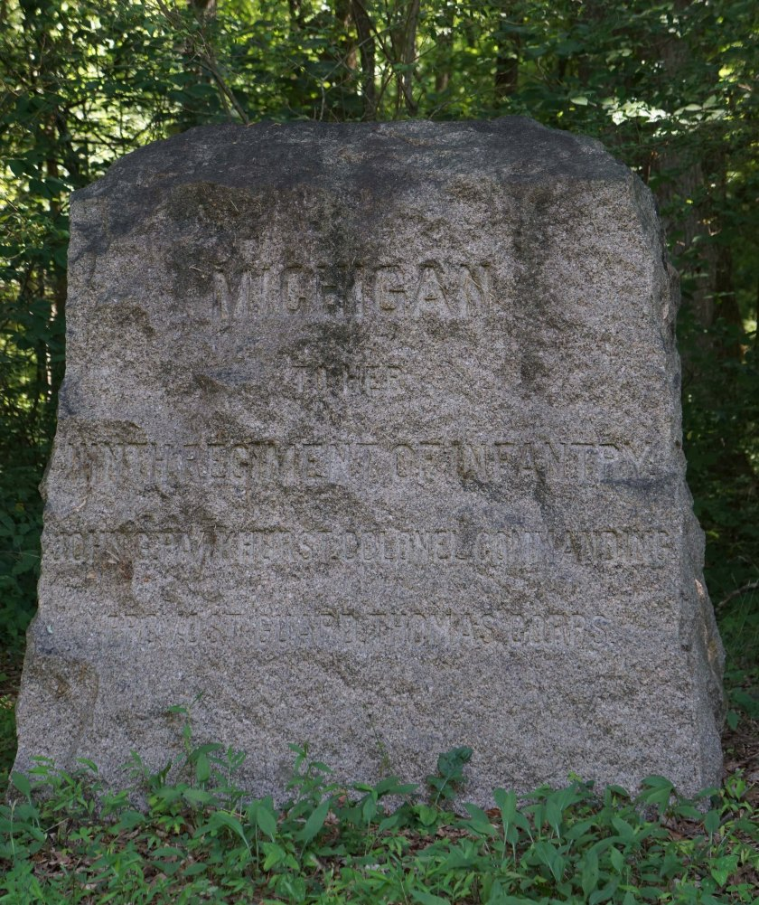 9th Michigan Infantry Monument
