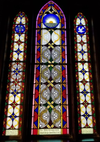 Trinity stained glass