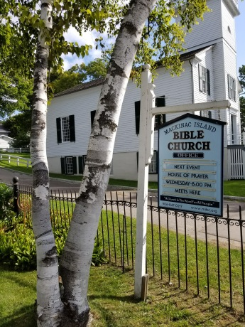 Bible Church sign