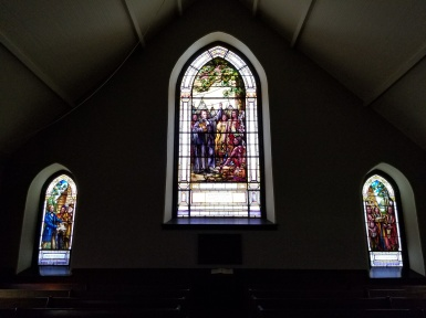Little Stone stained glass