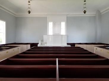 Mission Church sanctuary